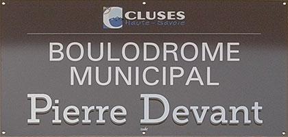 Boulodrome Pierre Devant - Cluses